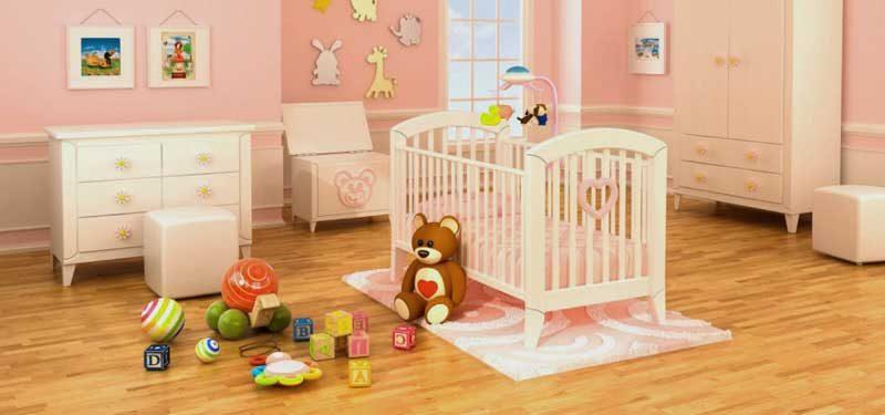 Идеи за подови настилки за детска стая