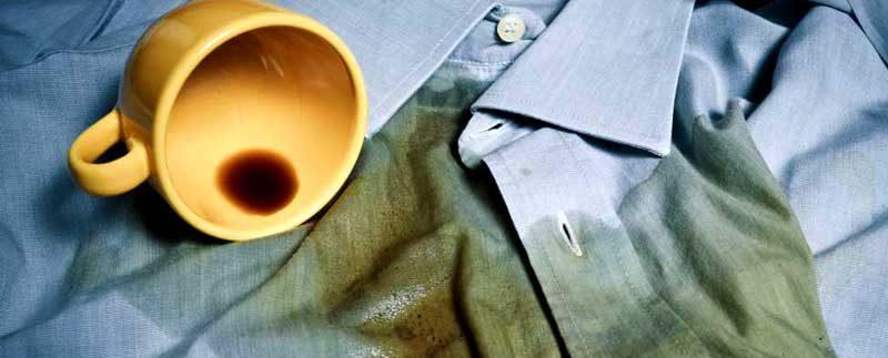 Почистване на петна от дрехи