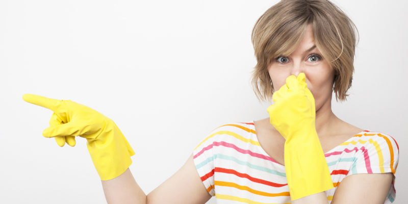 Топдом - бензин, миризма, отстраняване