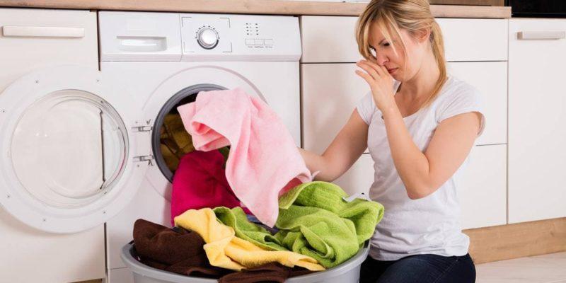 Топдом - лоша миризма, пране