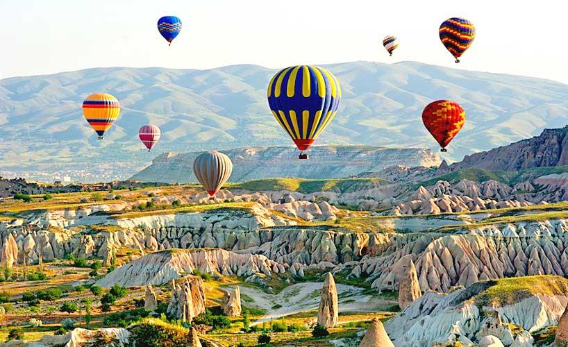 Забележителности в Кападокия, Турция