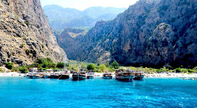 Олудениз в Турция - бял плаж и парашутизъм
