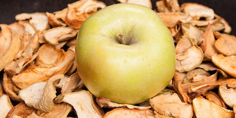 Топдом - ябълки, сушене