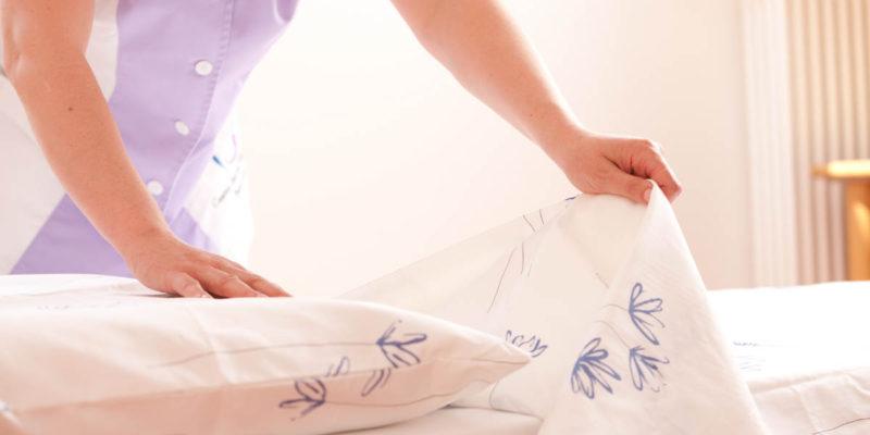 Топдом - спално бельо, пране, температура