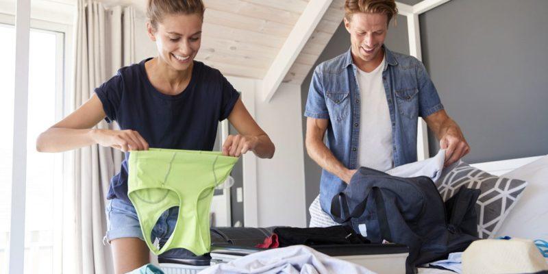 Съвети за лесно опаковане на багажа за почивката