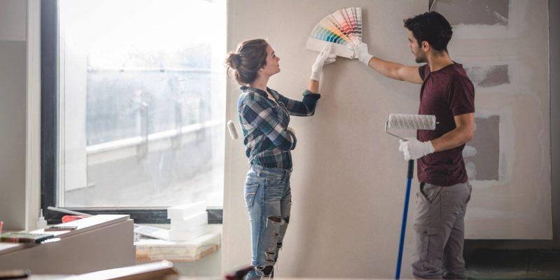 Боядисване на коридора - какъв цвят да изберем