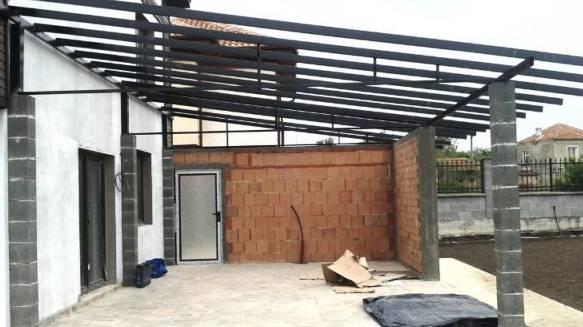 Изработка на метални конструкции за покриви